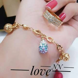 Xuping Set Lapis Emas 24k