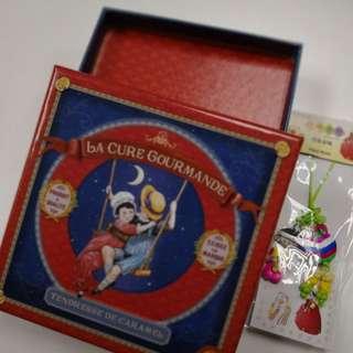 Vintage collectable box Korean souvenir