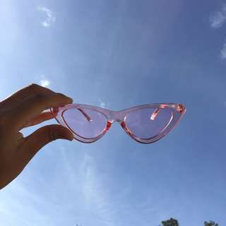 The GABB CAT EYE Sunnies (pink)