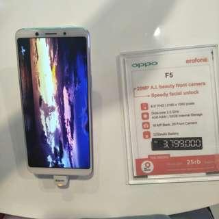 Promo Cashback Oppo F5 Cicilan Tanpa Kartu Kredit