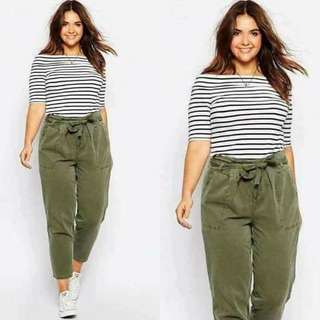 Offshoulder Terno Pants (Voluptous Collection)