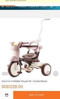 Iimo 2 foldable Tricycle