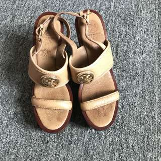 Authentic Tory burch wedge