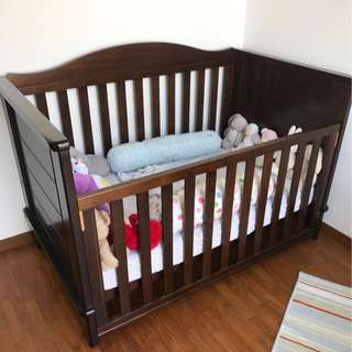 Boori Country Collection Kids Bed Baby Cot