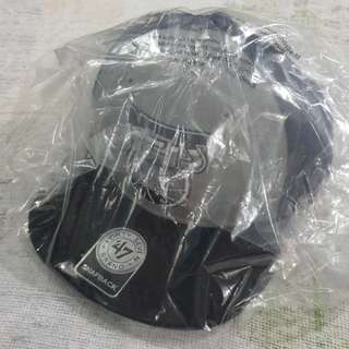 Legit Brand New With Sealed 47 Forty Seven Brand Strapback Camo NBA New Jersey Brooklyn Nets Cap One Size Fits All