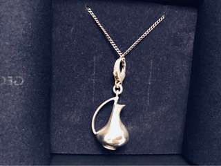 Georg Jensen 銀壺頸鍊 Charm collection silver necklace