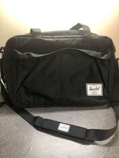 Herschel Supply Bowen Black Travel Duffle Bag