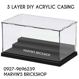 Restocks! 3 Layer DIY Acrylic Casing with studs