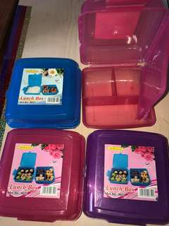 Lunchbox 4 for RM20