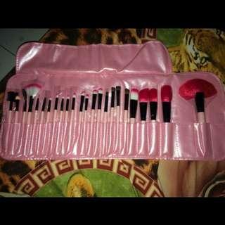 24pcs brush makeup set