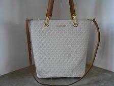 Michael Kors Raven Large Tote bag optic white/Leather