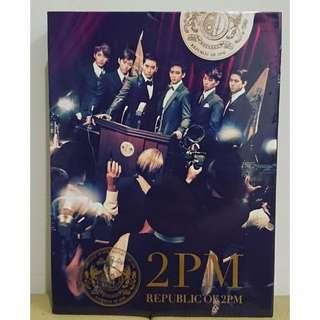 🚚 【全新】2PM-Republic of 2PM-第一張日本正規專輯