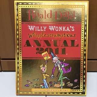 Roald Dahl Willy wonka annual 2011