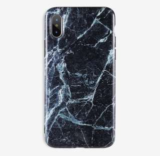 Marble rubber IMD case for iPhone 6/6s