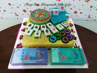 HOME MADE JELLY CAKE