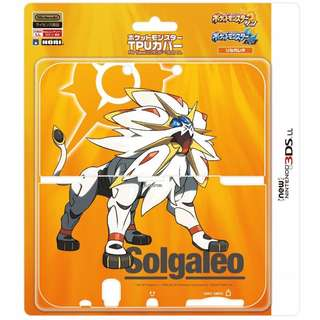 (BRAND NEW) HORI POKEMON TPU COVER FOR NEW 3DS LL (SOLGALEO)