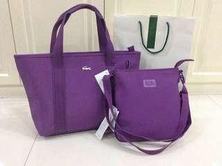 Lacoste bag set