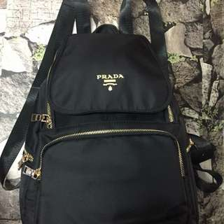 Brandnew! Authentic Quality Prada Backpack (Black)