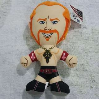 Legit Brand New With Tags WWE Sheamus Plush Toy