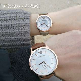 Authentic!正品!Armani 情侶手錶 Watch
