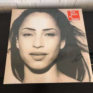 Sold. Sade - the best of. Vinyl Lp. New