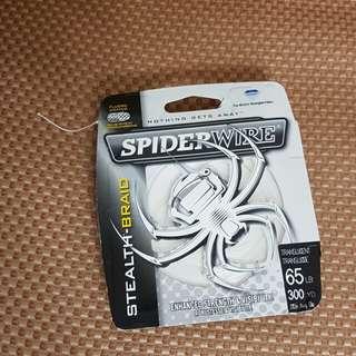Spiderwire fishing braid 65lb 300 yards