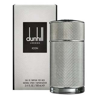Dunhill Icon EDP for Men (100ml/Tester) Alfred London Eau de Parfum Silver