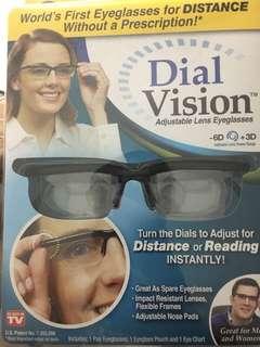 Adjustable Lens Eye glass