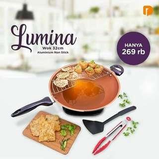 Lumina wok 32cm