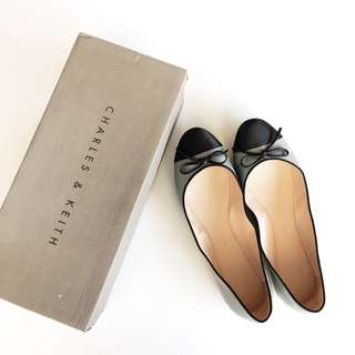 CHARLES AND KEITH Ballerina (Size 36)