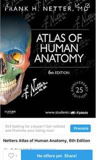 Netters Atlas Human Anatomt