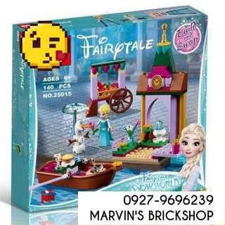 FROZEN Princess Elsa's Market Adventure Building Blocks Toy