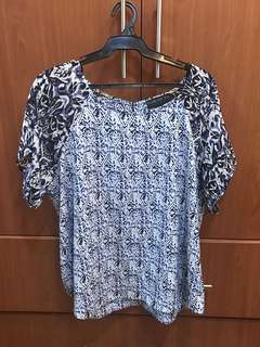 Forever21 Plus Size Printed Blouse