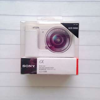 Sony A5000 Body Case Camera LCS-EBB
