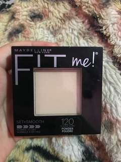 Maybelline fit me set & smooth powder 120