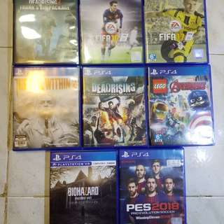 PS4 Games 可換game