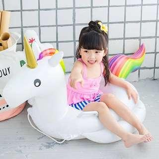 🦄️小童0-4歲獨角獸游水圈•水泡🦄️ Kid Unicorn Pool ring Floaty