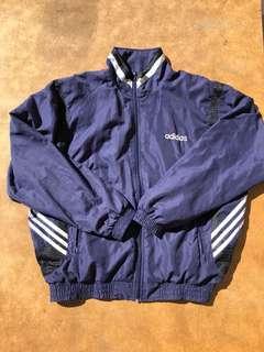 Vintage Navy Adidas Jacket