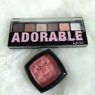 NYX eyeshadow pallete Adorable