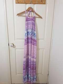 Purple Maxi Dress Size 6/XS