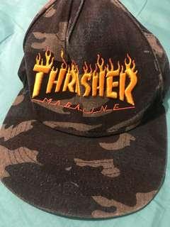"Camo ""Thrasher"" Cap"