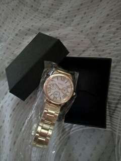 Gold Geneva Watch