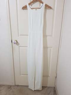 White Gown/Floor Length Dress Size 6/XS