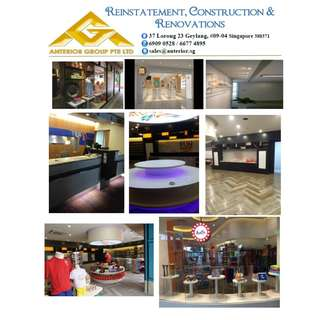 Renovate Reinstate Construction