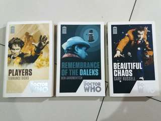 (REPRICED) Doctor Who Books