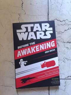 Star Wars: Before The Awakening by Greg Rucka
