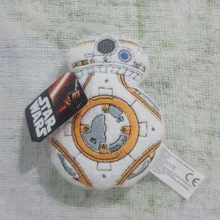 Legit Brand New With Tags Star Wars BB8 BB-8 Plush Toy