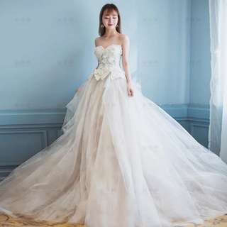 2018 new vera wang style weddig gown