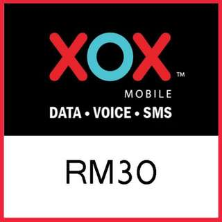 ONE XOX RM30 TOP UP DIRECT RELOAD