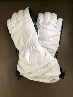 白色全新滑雪手套